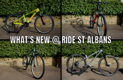 What's NEW at Ride St Albans